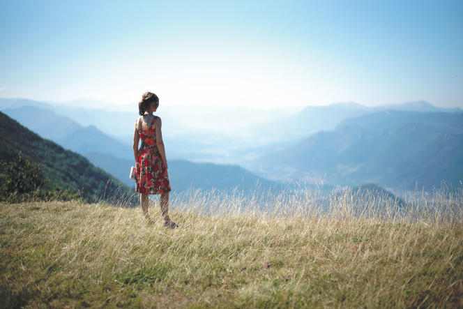 Nathalie (Isabelle Huppert), une quinquagénaire dans la tourmente.