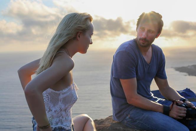 Dakota Johnson et Matthias Schoenaerts dans  « A Bigger Splash ».