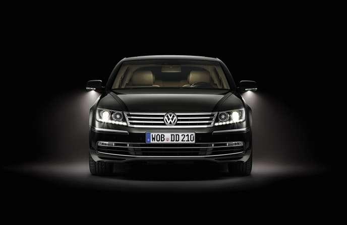 La Phaëton de Volkswagen.