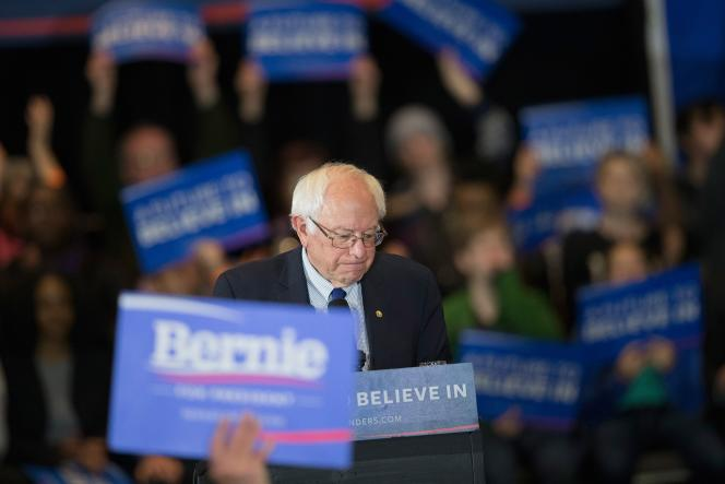 Bernie Sanders a, encore une fois, en mars, levé énormément d'argent : 44millions de dollars,contre 29,5 millions pour Hillary Clinton. C'est le signe de l'engouement populaire pour le candidat.