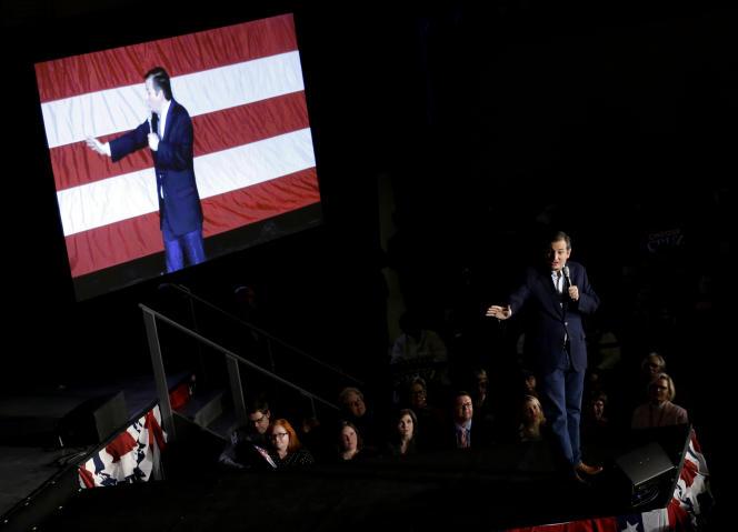 «Nous enchaînons les victoires!», a lancé Ted Cruz, lundi4avril.
