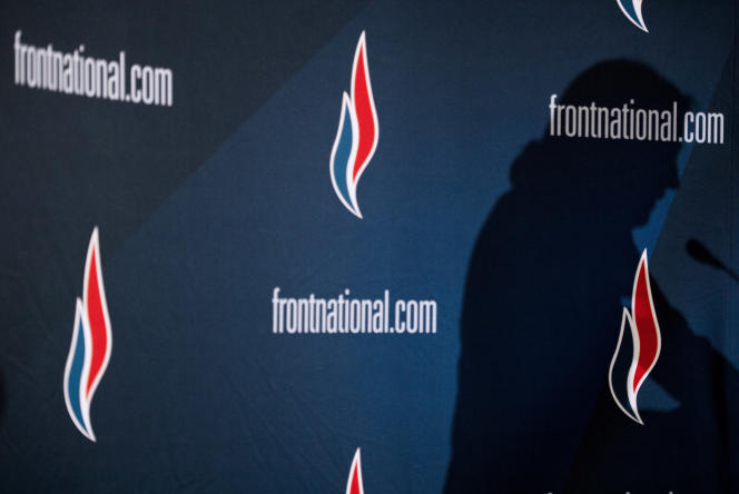 Lors d'un meeting du Front national, à Lyon, le 29 novembre 2014.