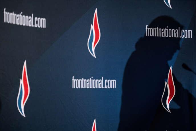 Lors d'un meeting du Front national, à Lyon, le 29 novembre 2014.