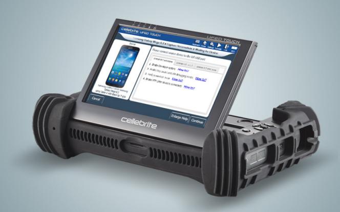 Un Cellebrite UFED, outil qui permettrait aux enquêteurs d'extraire les données d'un téléphone portable.