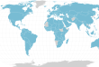 """Carte des pays impliqués dans les """"Panama Papers"""""""