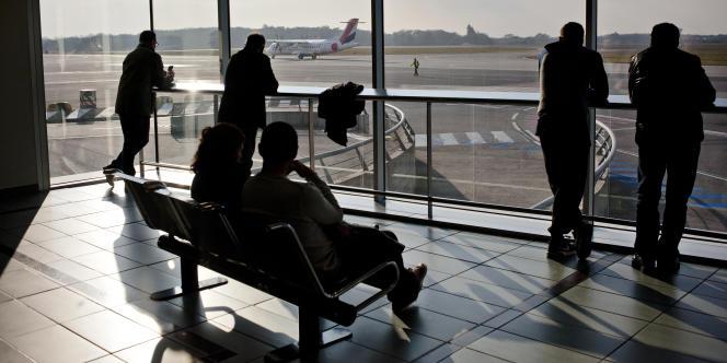 L'aéroport Nantes Atlantique.