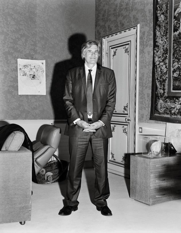Stéphane Le Foll dans son bureau du ministère de l'agriculture, le 21mars 2016.