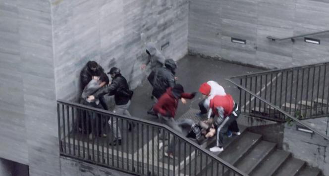 Extrait d'un clip de la campagne «Tous unis contre la haine».