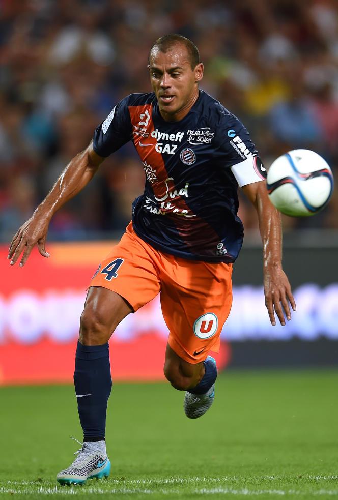 Le défenseur de Montpellier Vitorino Hilton, 38 ans.