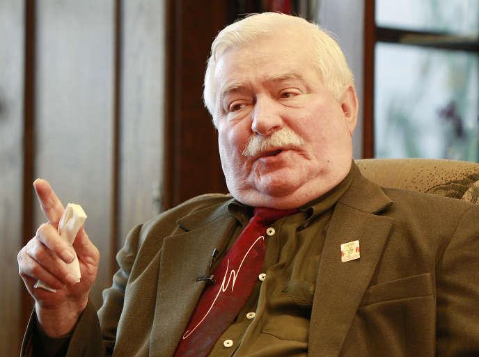 L'ancien président polonais et chef historique du syndicat