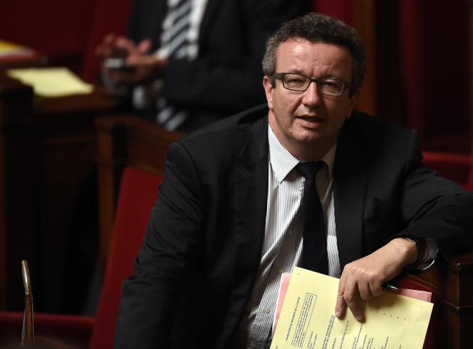 Christian Paul à l'Assemblée Nationale, Paris, le 24 juin 2015.