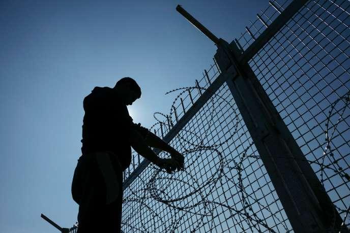 La frontière entre la Turquie et la Bulgarie, à un point de passage de migrants vers l'Union européenne.