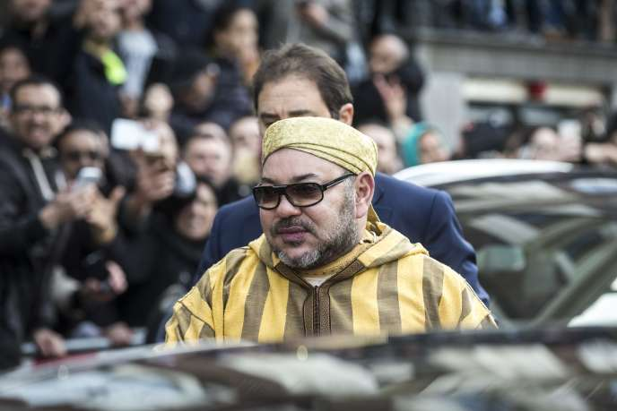 Mohammed VI, le roi du Maroc, à Amsterdam, le 30 mars 2016.