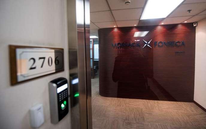 Les bureaux de Mossack Fonseca à Shanghaï, le 6 avril.