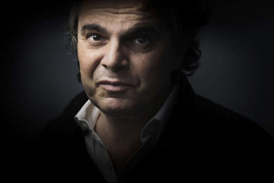 L'écrivain et cinéaste Alexandre Jardin, en avril 2015, à Paris.