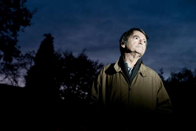 L'écrivain britannique David Lodge photographié chez lui, le 3 Novembre 2011 à Birmingham.