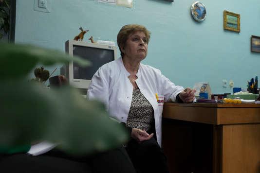 Olga Boyarska dirige la polyclinique pour enfants de la banlieue de Kiev.