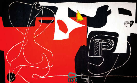 """""""Les dés sont jetés"""", la tapisserie de Le Corbusier."""