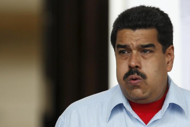 Le président du Venezuela, Nicolas Maduro, à Caracas, le 7 avril.