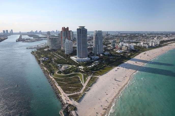 Miami Beach en Floride le 5 avril 2016.