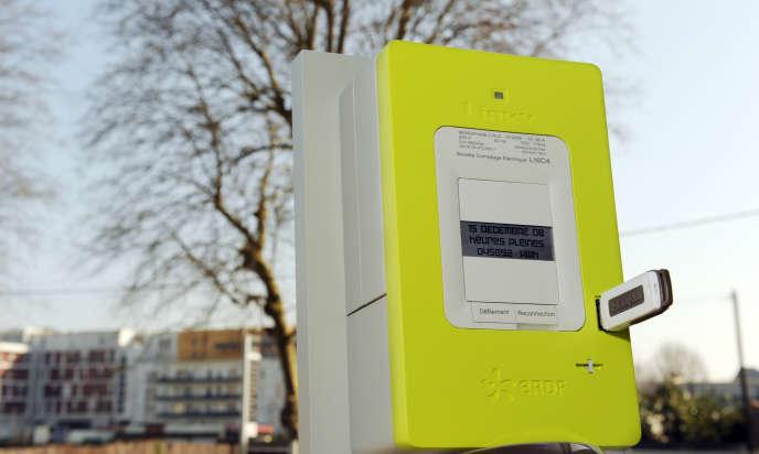 Linky, le nouveau compteur électrique ERDF.