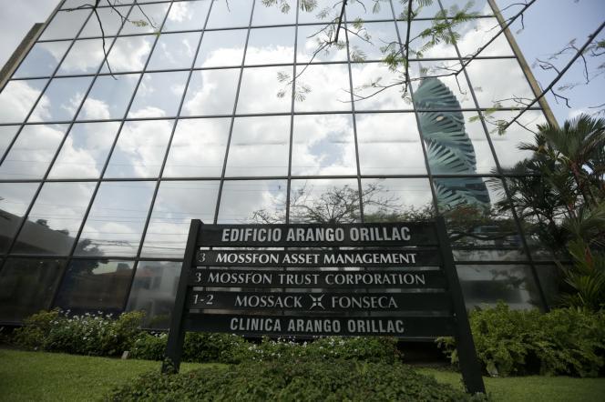 Le siège du cabinet Mossack Fonseca, à Panama City.