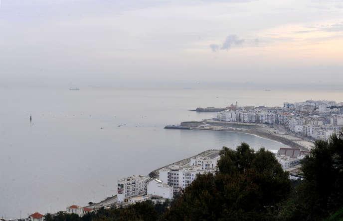 Vue de la ville d'Alger, le 13 décembre 2010.