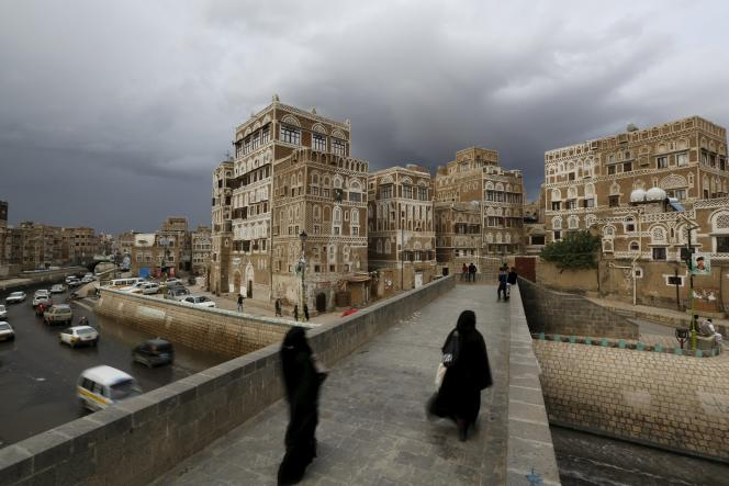 A Sanaa, capitale du Yémen, le 9 avril.