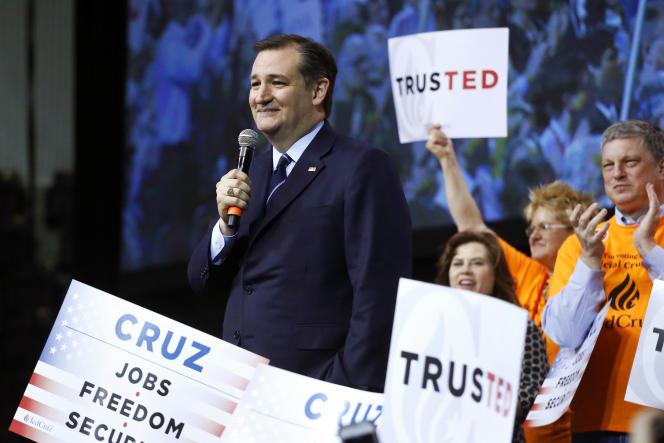 Ted Cruz a activement mené campagne dans le Colorado.