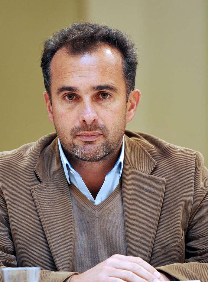 Abdennour Bidar à Tourcoing en décembre 2011.
