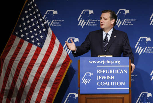Le candidat républicain Ted Cruz, le 9 avril 2016 à Las Vegas.