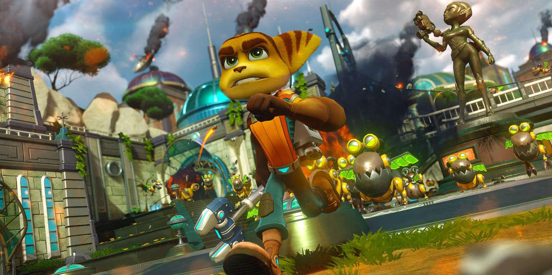 On a testé… « Ratchet et Clank », le plus Pixar des jeux vidéo d ...