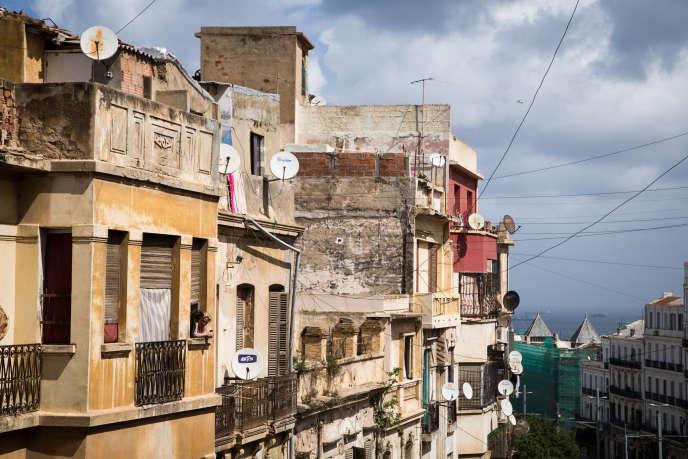 Rue Yveton, à Oran, en avril 2016.