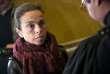Agnès Saal, à son arrivée au tribunal de Créteil, le 11avril.