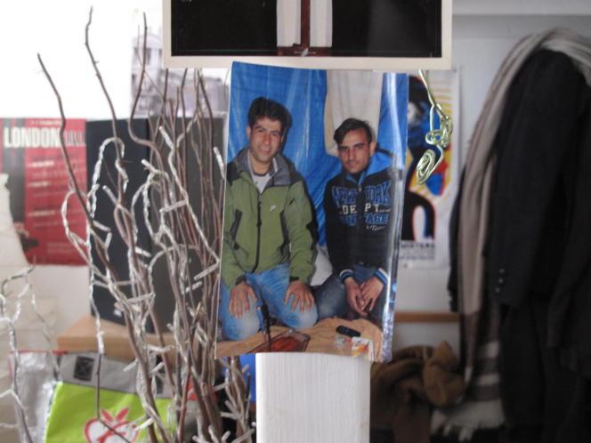 Nouroz (à gauche sur la photo), le