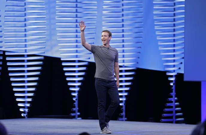 Le patron de Facebook, Mark Zuckerberg, le 12 avril 2016.