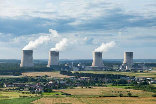La centrale nucléaire de Cattenom en Lorraine.