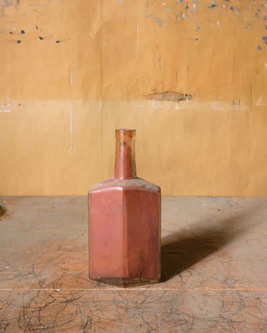 Rust Color Bottle.