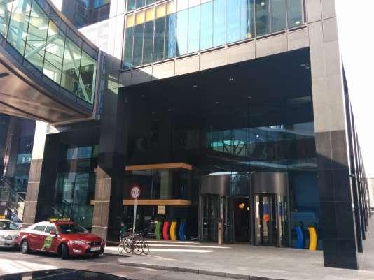 Le siège européen de Google à Dublin, situé à quelques centaines de mètres de celui de Facebook.