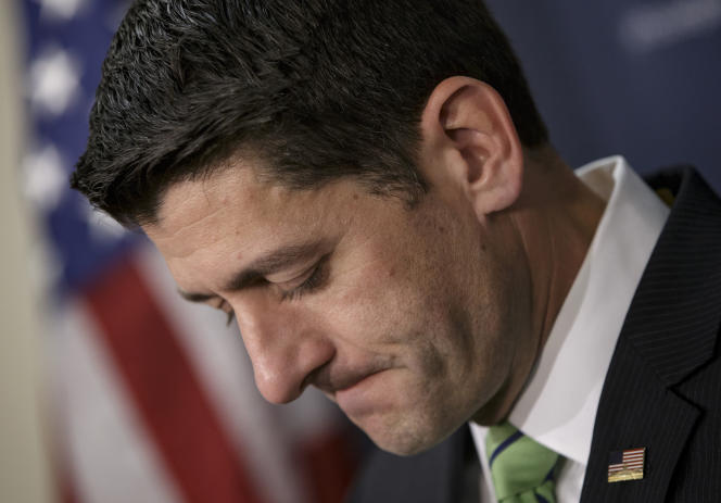 Le « speaker » (président) de la Chambre des représentants Paul Ryan, le 13 avril 2016.