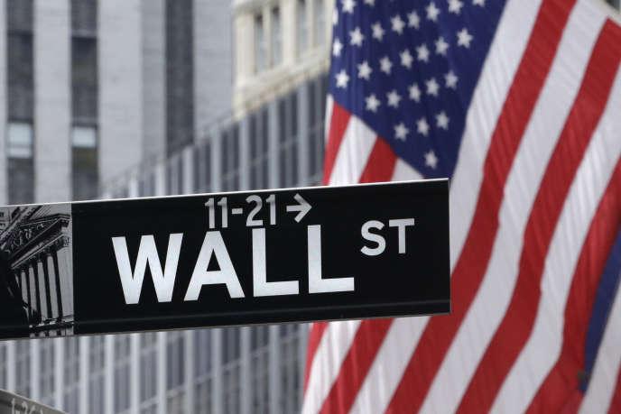La rue de Wall Street à New York, le 6 juillet.
