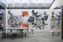 """Vue de l'exposition """"Double Je, artisans d'art et artistes"""" au Palais de Tokyo du 24 mars au 16 mai 2016."""