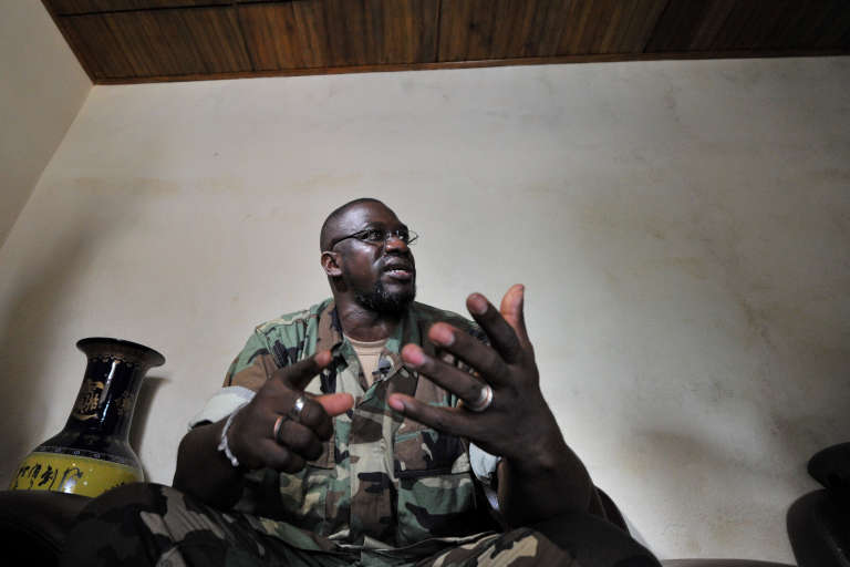 "Ibrahim Coulibaly, alias ""IB"", le 19 avril 2011 à Abidjan."
