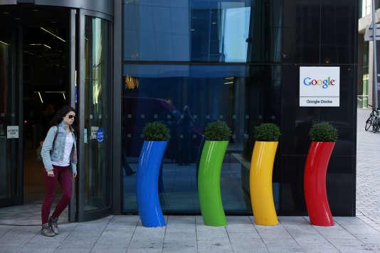 Le siège de Google Europe à Dublin en juillet 2013.
