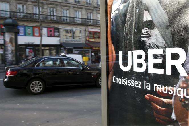 L'Urssaf poursuit Uber pour faire reconnaître à ses chauffeurs le statut de salarié.