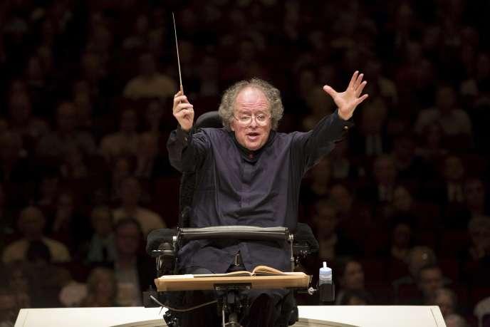 Le chef d'orchestre américain James Levine, directeur musical du Metropolitan Opera de New York, en mai 2013.