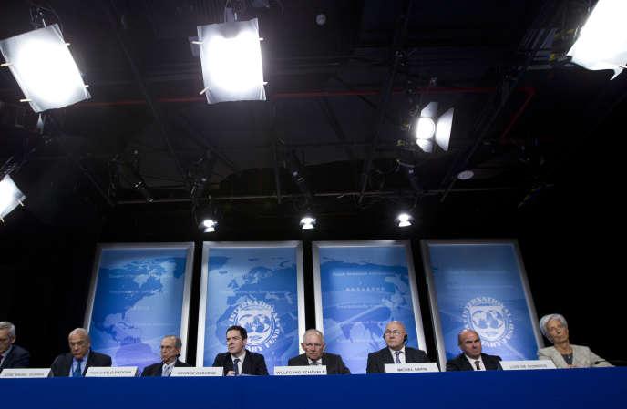 Les ministres des finances allemand, italien, espagnol, britannique et français ont plaidé le 14 avril pour la mise en place d'une liste noire du G20 des paradis fiscaux.