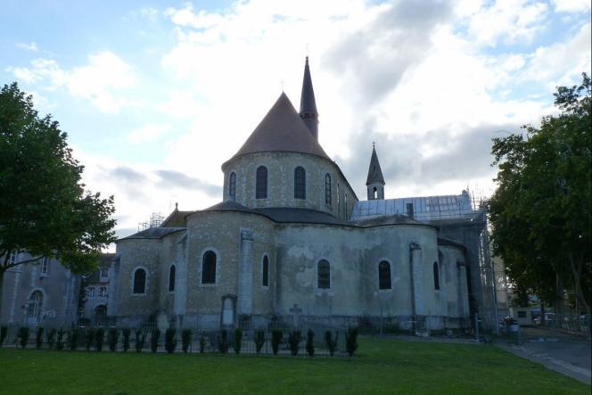 L'église Saint-Martin-au-Val, à Chartres