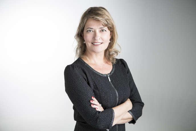 Laetitia Recayte, directrice du développement commercial de France Télévisions.