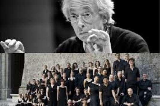 Philippe Herreweghe et son Collegium Vocale Gent.